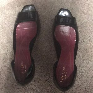 Kate Spade New York Size 8.5M Black patent leather
